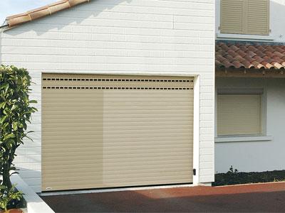Les portes de garage enroulables