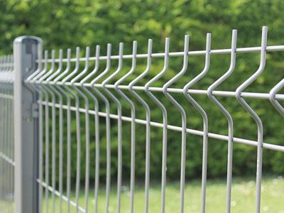 Les clôtures en treillis soudé