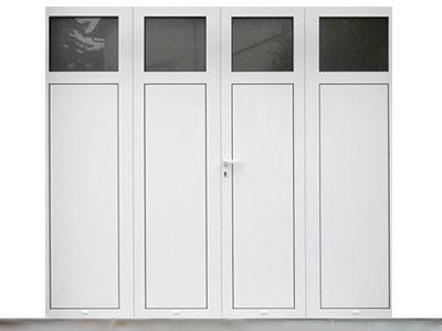 Porte de garage 2, 3 ou 4 vantaux